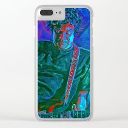 Dean Ween  (Ween) Clear iPhone Case