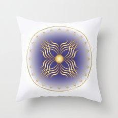 Fleuron Composition No. 142 Throw Pillow