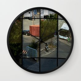 architecture Facade Wall Clock