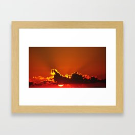 Early Rays Framed Art Print
