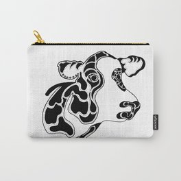 Cow in Ink Carry-All Pouch
