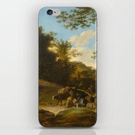 BOTH, JAN DIRCKSZ. (FOLLOWER) (1615 Utrecht 1652) A flock of sheep. iPhone Skin