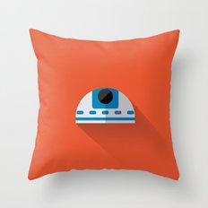 R2D2 Minimalist Poster Throw Pillow