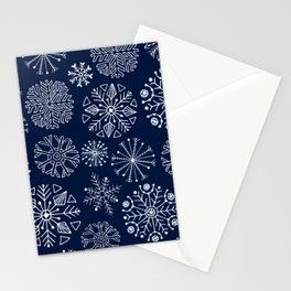Les fleurs blanche Stationery Cards
