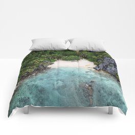 Isolated Beach Comforters