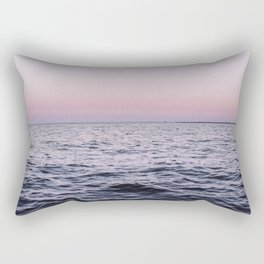 Ocean Moon Sunset Rectangular Pillow
