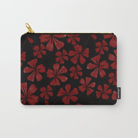 Flower..7 Carry-All Pouch