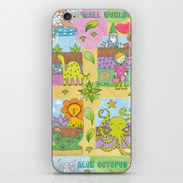 Little Gardeners iPhone Skin