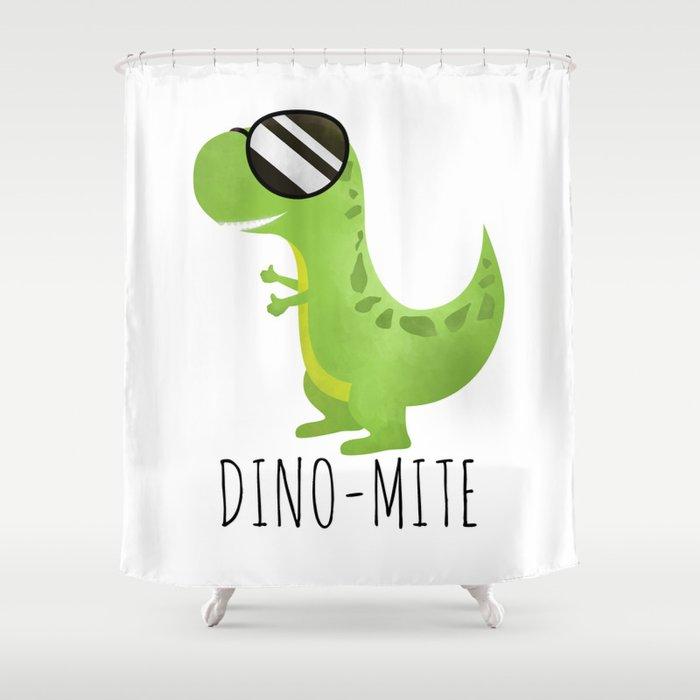 Dino-Mite Shower Curtain