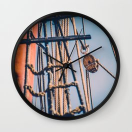 Hold Tight III Wall Clock