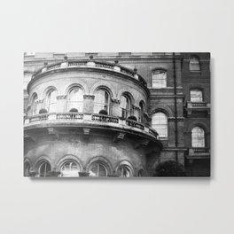 The Langham Hotel Metal Print