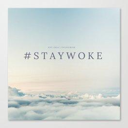 StayWoke 1 Canvas Print