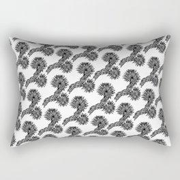 Joshua Tree Oscuro by CREYES Rectangular Pillow