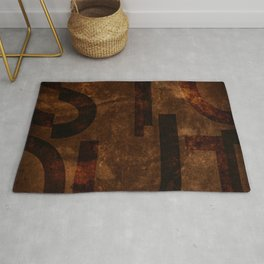 Stout Beer Typography Rug