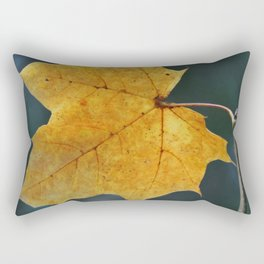 Until the Last Leaf Falls Rectangular Pillow