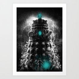 Shadow Of The Dalek Art Print