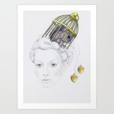 Entrapment Art Print