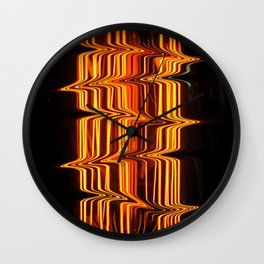 Lightning Bulb Wall Clock