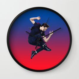 Tom Holland 3 Wall Clock