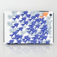 the 100 iPad Cases featuring 100 fishes by Michelle Behar