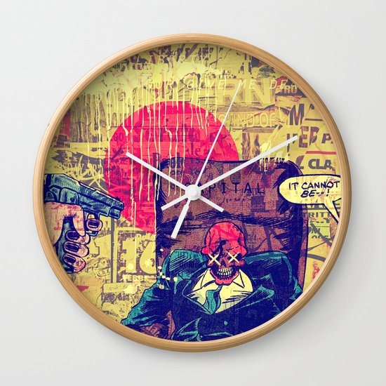 It Cannot Be! Wall Clock