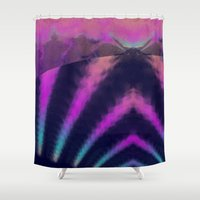taurus Shower Curtains featuring taurus by donphil