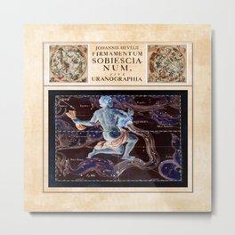 Hevelius Aquarius Metal Print