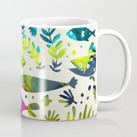 under the sea Mugs featuring Under The Sea by 83 Oranges™