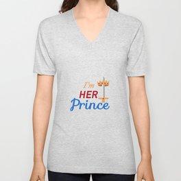 I'm her Prince Unisex V-Neck