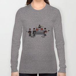 The Ed Sullivan Show Feb 9th 1964 Long Sleeve T-shirt
