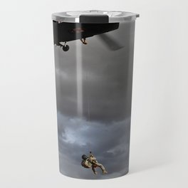 Suspended Between Worlds Travel Mug