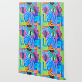 Summer Love | Painting by Elisavet Wallpaper