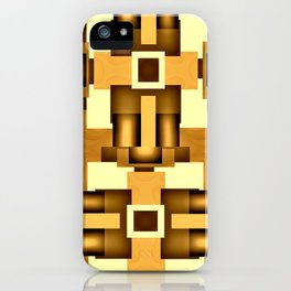 Gold Beige Pipe System,Streampunk iPhone Case
