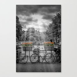Typically AMSTERDAM Canvas Print