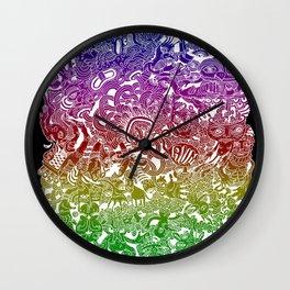 Hellish Wall Clock
