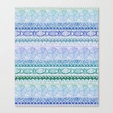 Sea of Stripes Canvas Print