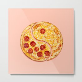 Pizza Harmony Metal Print