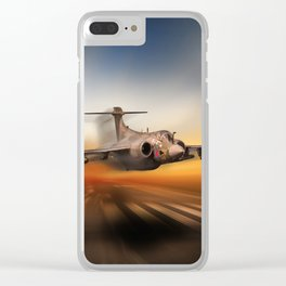 Keepig It Low Clear iPhone Case