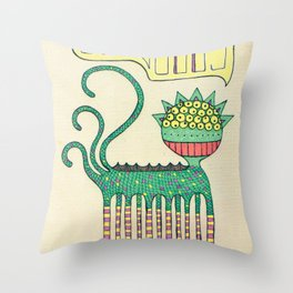 galáctico Throw Pillow