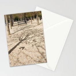 Tree & Shadow Stationery Cards