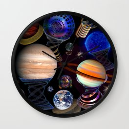 Atlas is on day off Wall Clock
