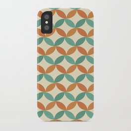 Midcentury Pattern 01 iPhone Case