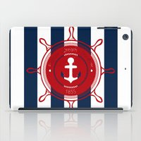 nautical iPad Cases featuring Nautical by Katherine GM