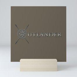 OUTLANDER SILVER Mini Art Print