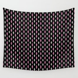 Curved diamonds Wall Tapestry