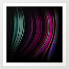 Colour Curves 3 Art Print