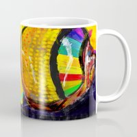 archan nair Mugs featuring Daft Punk by Archan Nair