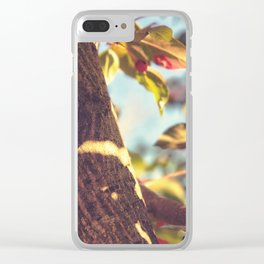 Upon the Fall Clear iPhone Case