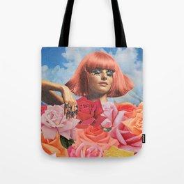 Flowerbed Tote Bag