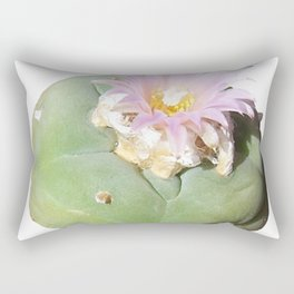 Peyote Cactus - Lophophora Shaman Rectangular Pillow